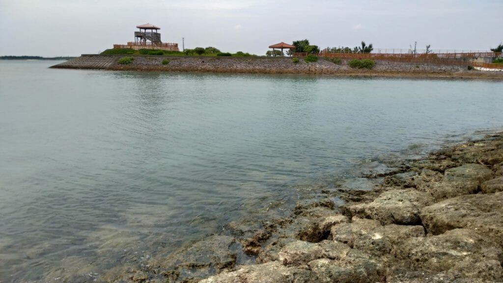 沖縄南部で釣り