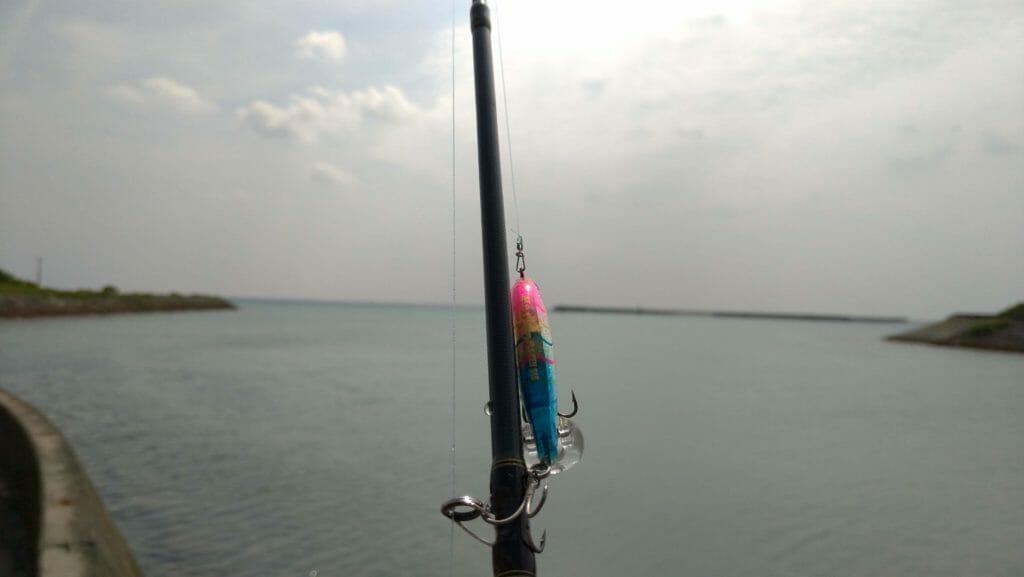 沖縄南部で釣り フラペン