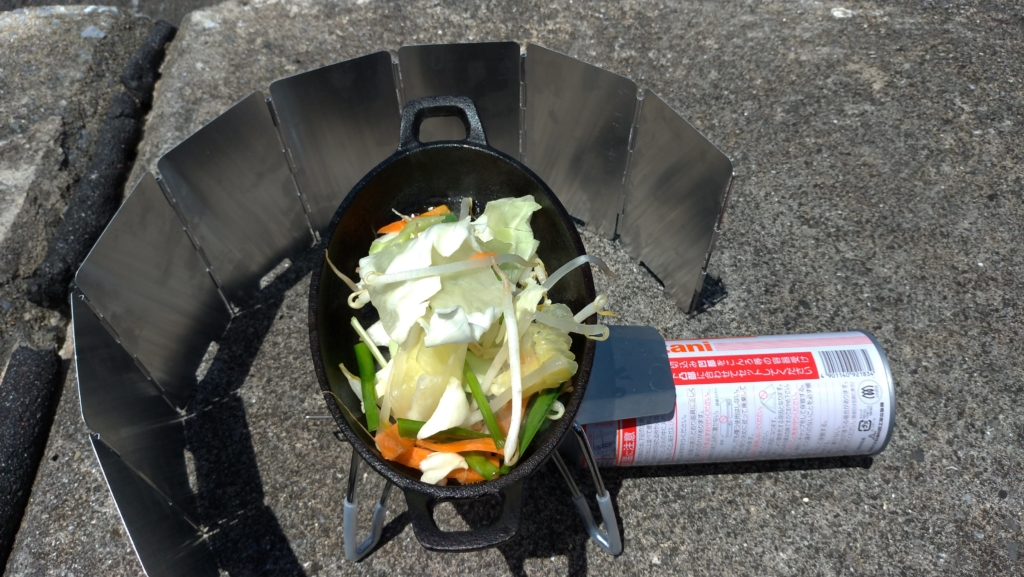 st-310 野菜炒め