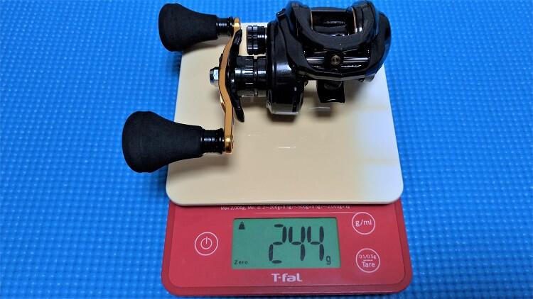 ロキサーニパワーシューター 重量