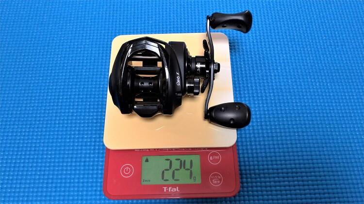 レボX 重量