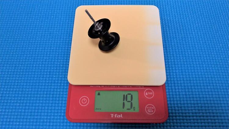 レボX スプール重量