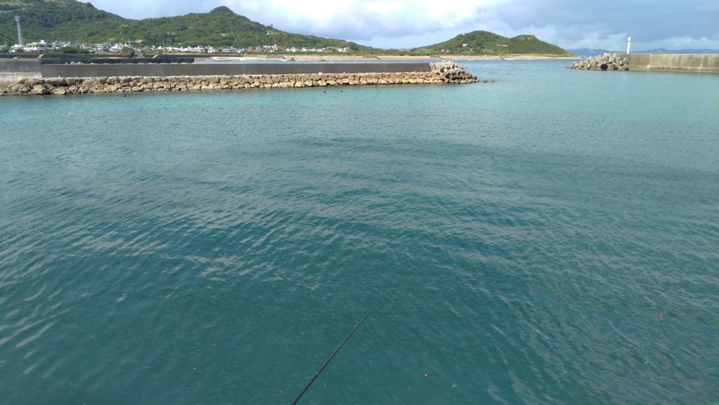のべ竿 漁港